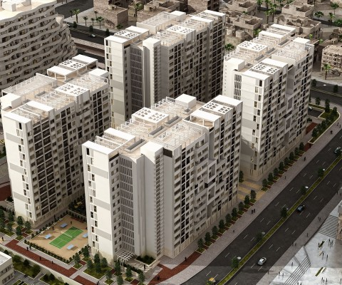 Golden City Central Site Residential complex