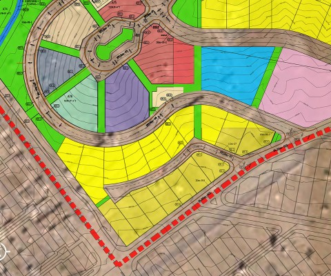 Land Preparation North Expansion of Pardis New Town
