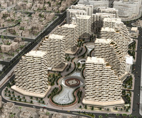 Golden City South Site Residential complex